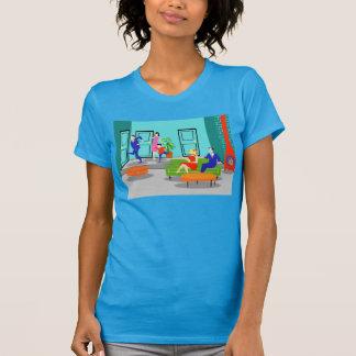 Rétro T-shirt classique de télévision