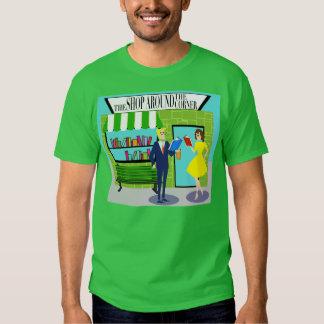 Rétro T-shirt d'amoureux des livres