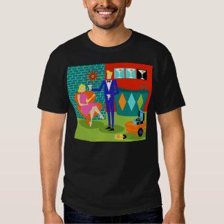 Rétro T-shirt de couples de Matini