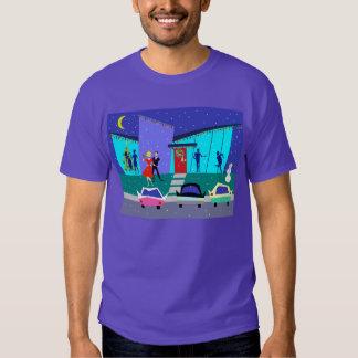 Rétro T-shirt de partie de bande dessinée de