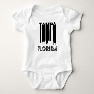 Retro Tampa Skyline Baby Bodysuit