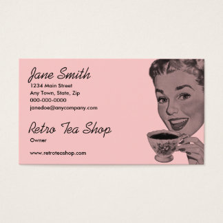 Retro Tea Business Card