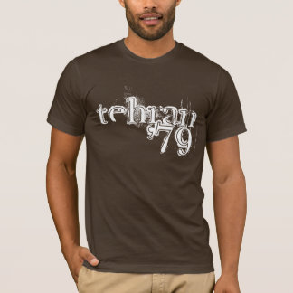 "Retro ""tehran '79"" T-Shirt"