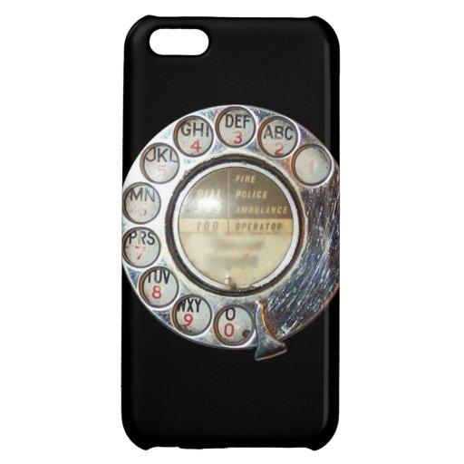 Retro Telephone Dial iPhone 5 case