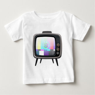Retro Television Baby T-Shirt
