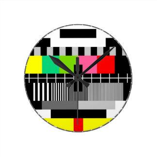 Retro television wall clock