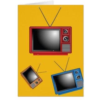 Retro Televisions Card