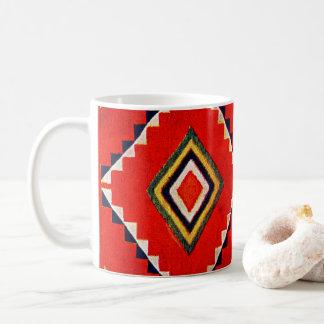 Retro Textile Design 1900 Coffee Mug