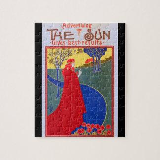 "Retro ""The Sun"" advertisement Puzzle"