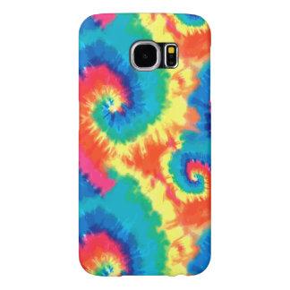 Retro Tie Dye Design Samsung Galaxy S6 Cases