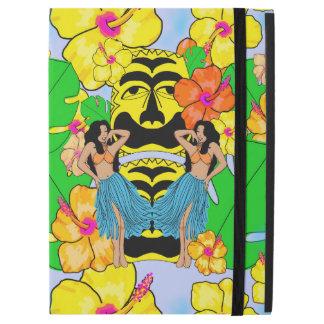 "Retro tiki hula tropical iPad Pro 12.9"" case"