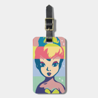 Retro Tinker Bell 2 Luggage Tag