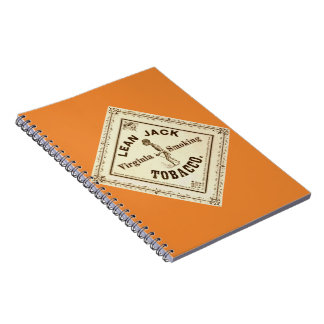 Retro Tobacco Label 1867 a Spiral Notebook