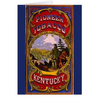 Retro Tobacco Label 1868 d Card