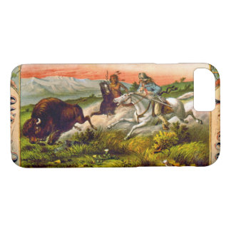 Retro Tobacco Label 1872 d iPhone 8/7 Case