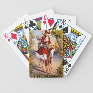 Retro Tobacco Label 1874 Bicycle Playing Cards