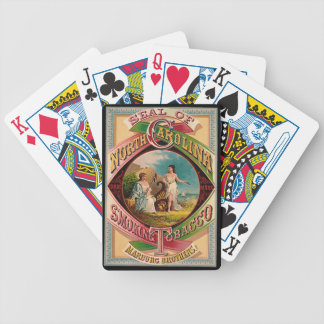 Retro Tobacco Label 1879 Bicycle Playing Cards