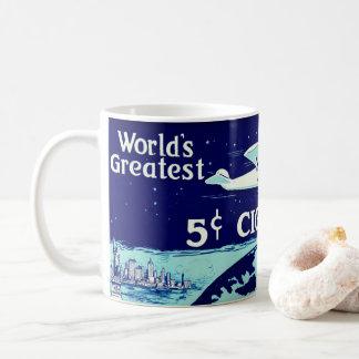 Retro Tobacco Label 1930 Coffee Mug