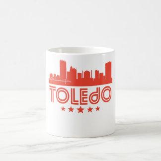 Retro Toledo Skyline Coffee Mug