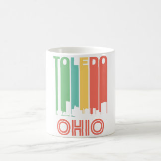Retro Toledo Skyline Coffee Mug