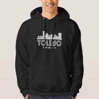 Retro Toledo Skyline Hoodie