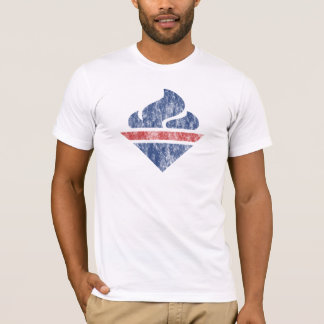 Retro Torch (American Apparel) T-Shirt