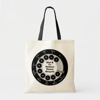 Retro Tote Bag - Reduce, Reuse, Recycle