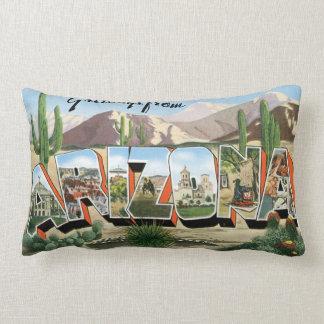 Retro Tourist Pillow Arizona