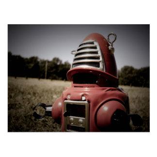 Retro Toy Robby Robot 06 Postcard
