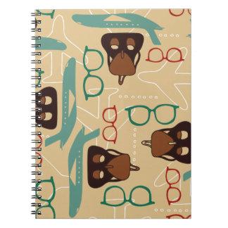 Retro travel notebook