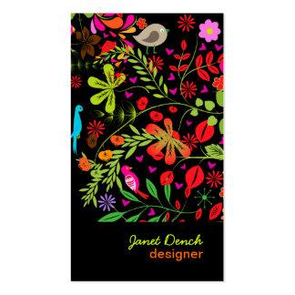 Rétro Tree DIY couleur d arrière - plan de PixDezi Cartes De Visite Professionnelles
