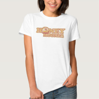 Retro Tropical Honeymooner Ladies Baby Doll (Fitte Tshirt