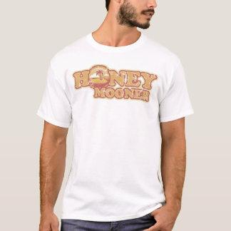 Retro Tropical Honeymooner Melange Ringer T-Shirt