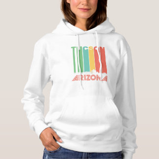 Retro Tucson Arizona Skyline Hoodie