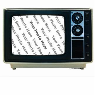 Retro TV Custom Frame Standing Photo Sculpture