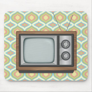 Retro TV Mouse Pad