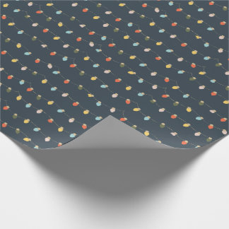 Retro Twinkles Wrapping Paper