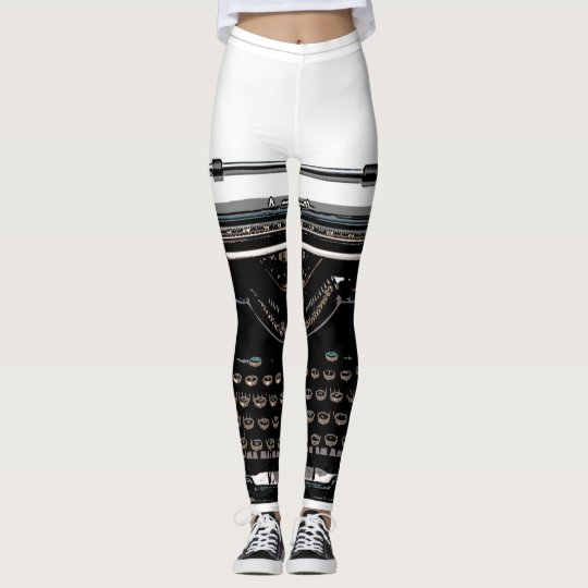 Retro Typewriter Leggings