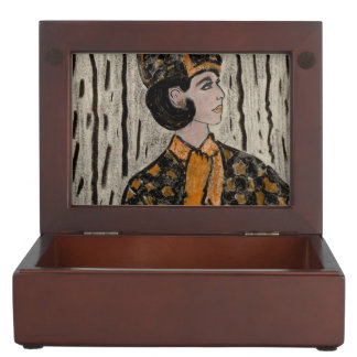 RETRO UPTOWN GIRL KEEPSAKE BOX