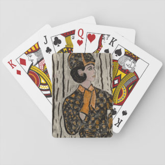 RETRO UPTOWN GIRL PLAYING CARDS