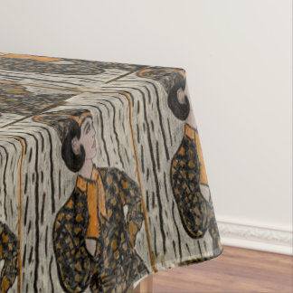 RETRO UPTOWN GIRL TABLECLOTH