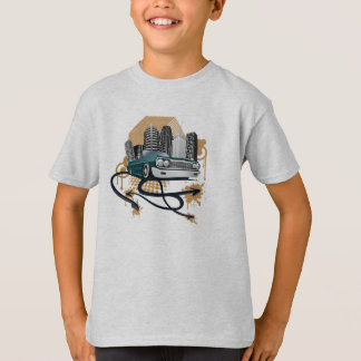 retro urban hip hop t-shirt