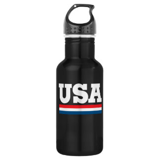 Retro USA 532 Ml Water Bottle