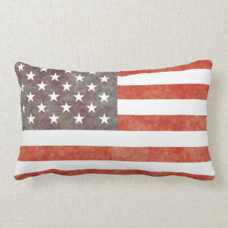 """RETRO USA"" LUMBAR PILLOW"