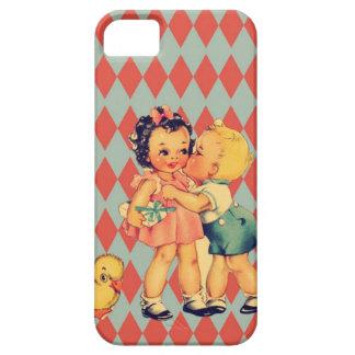 Retro Valentine Kitsch Vintage Kids Case For The iPhone 5
