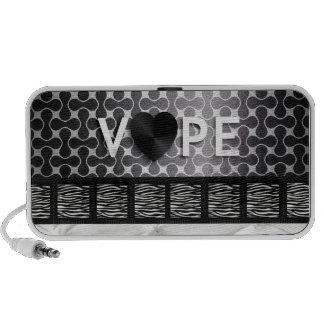 Retro Vape Zebra  iPhone Speakers