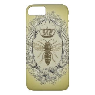 retro Victorian Bee Queen crown Fashion iPhone 7 c iPhone 7 Case