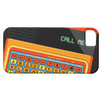 Retro video game Speak spell texas instruments vin iPhone 5 Case
