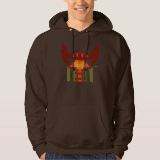 retro video games hooded sweatshirt