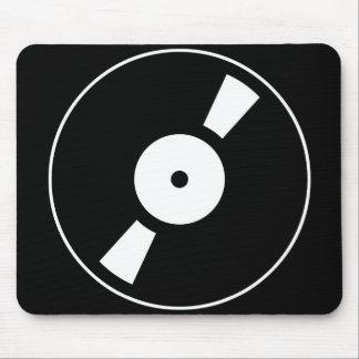 retro vinly record mouse pad